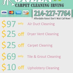Green Carpet Cleaning Irving logo