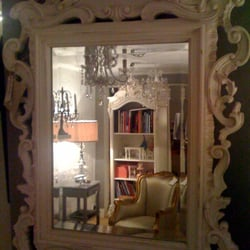 chateau french style wall mirror
