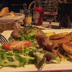 Le Bruant - Paris, France. Confit de Canard, yummy!!!