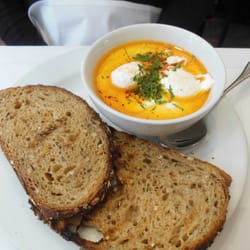 Turkish egg-with-yogurt and chili oil, I…
