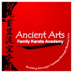 Ancient Arts Family Karate/Ju-Jitsu Academy logo