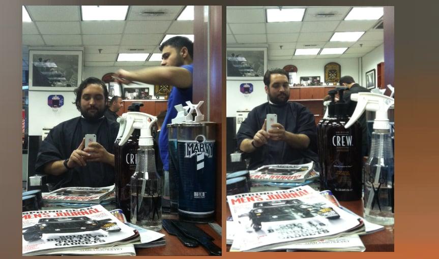 Midtown barbers chrysler building