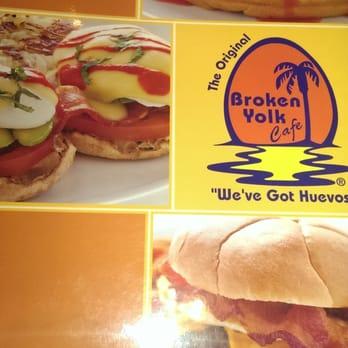 Broken Yolk Cafe San Diego Menu