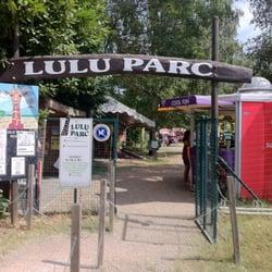 Lulu Parc - Rochecorbon, Indre-et-Loire, France. L'entrée du parc.