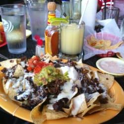 Berryhill Baja Grill - Fajita Beef Nachos - Houston, TX, United States