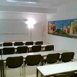 Ein Klassenraum der DHPA.
