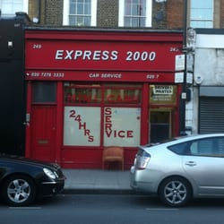 Express 2000 minicabs, London