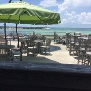 Louie's Backyard - Key West, FL, United States. Off the deck.