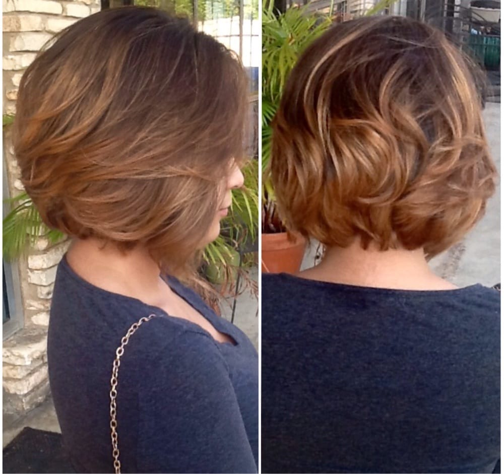 Balayage ombr by robert yelp for Lux hair salon
