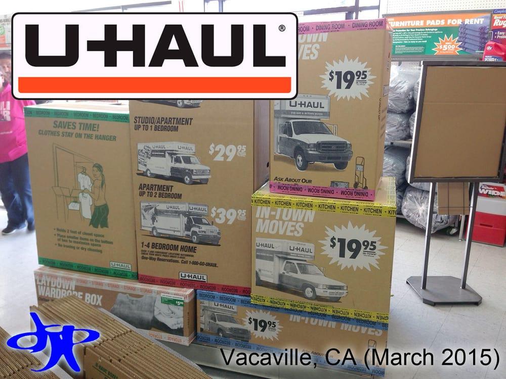 u haul u haul boxes prices
