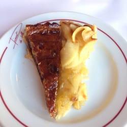 Duo de tartes du jour (tarte a la…
