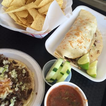 backyard taco mesa az united states chips and salsa added on for