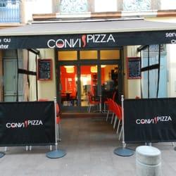 convi pizza italienisches restaurant carmes toulouse. Black Bedroom Furniture Sets. Home Design Ideas