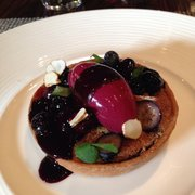 Blackberry (?) tart