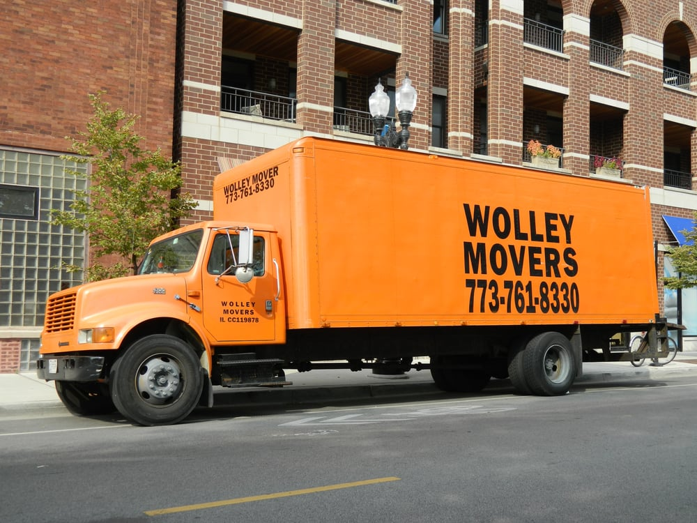 Wolley Movers Truck