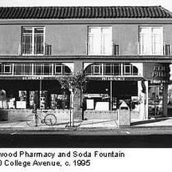 Elmwood pharmacy closed drugstores elmwood for Old fashioned soda fountain near me