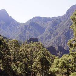 Parque Nacional de la Caldera de Taburiente, El Paso, Santa Cruz de Tenerife, Spain