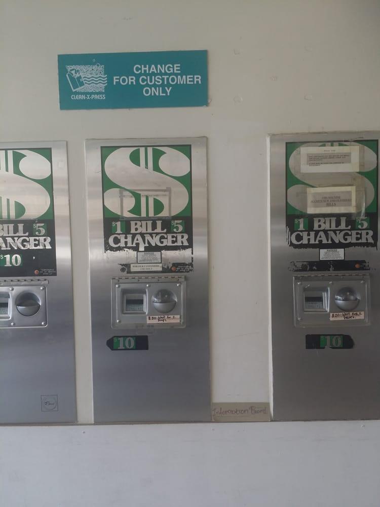 coin changer machine near me