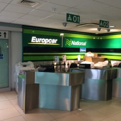 Europcar London Heathrow Airport car rental station, Middlesex, London