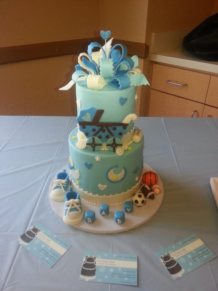 My Sweet Austin - Baby shower Cake!!! - Austin, TX, United States