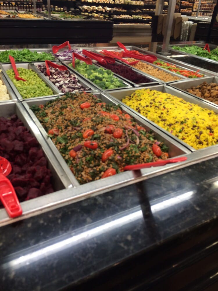 Salad bar yelp for Bar food 46 levallois