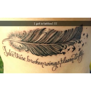 Tattoo on my right ribcage  You Are My Sunshine Tattoo Ribs