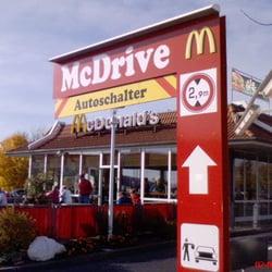 McDonald's Restaurant Rasthof, Alsfeld, Hessen, Germany