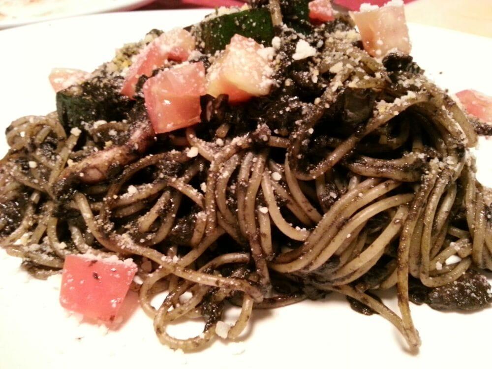 Squids Ink Squid Ink Pasta Spaghetti