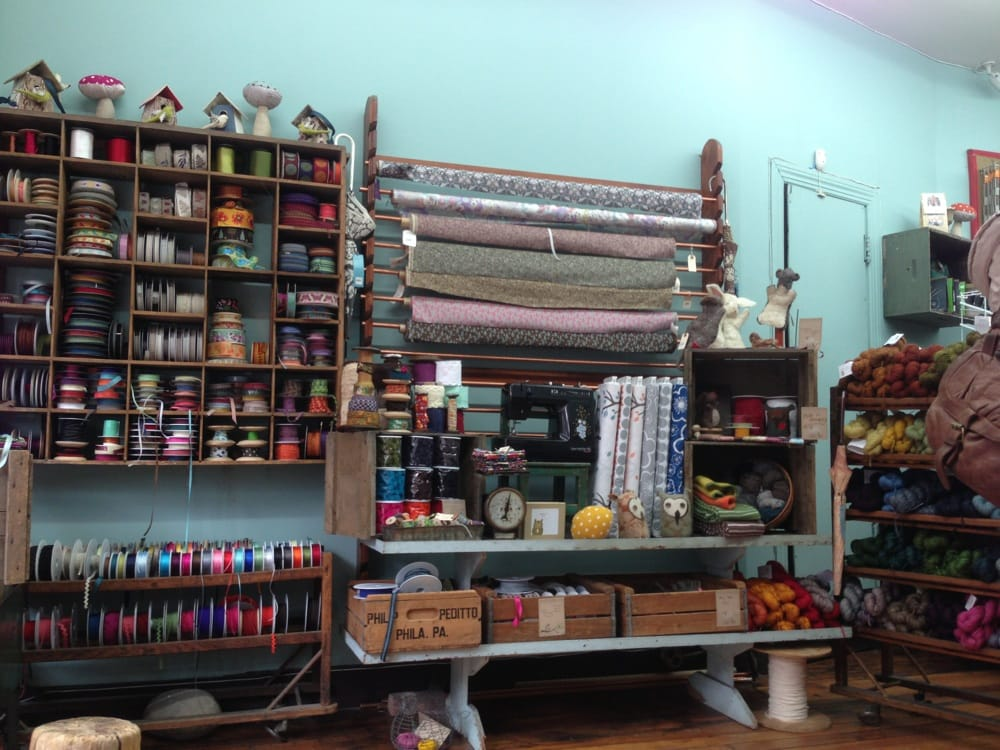 Brooklyn general fabric haberdashery carroll gardens for Craft stores in brooklyn
