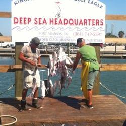 Deep sea headquarters boat charters 440 w cotter ave for Port aransas deep sea fishing
