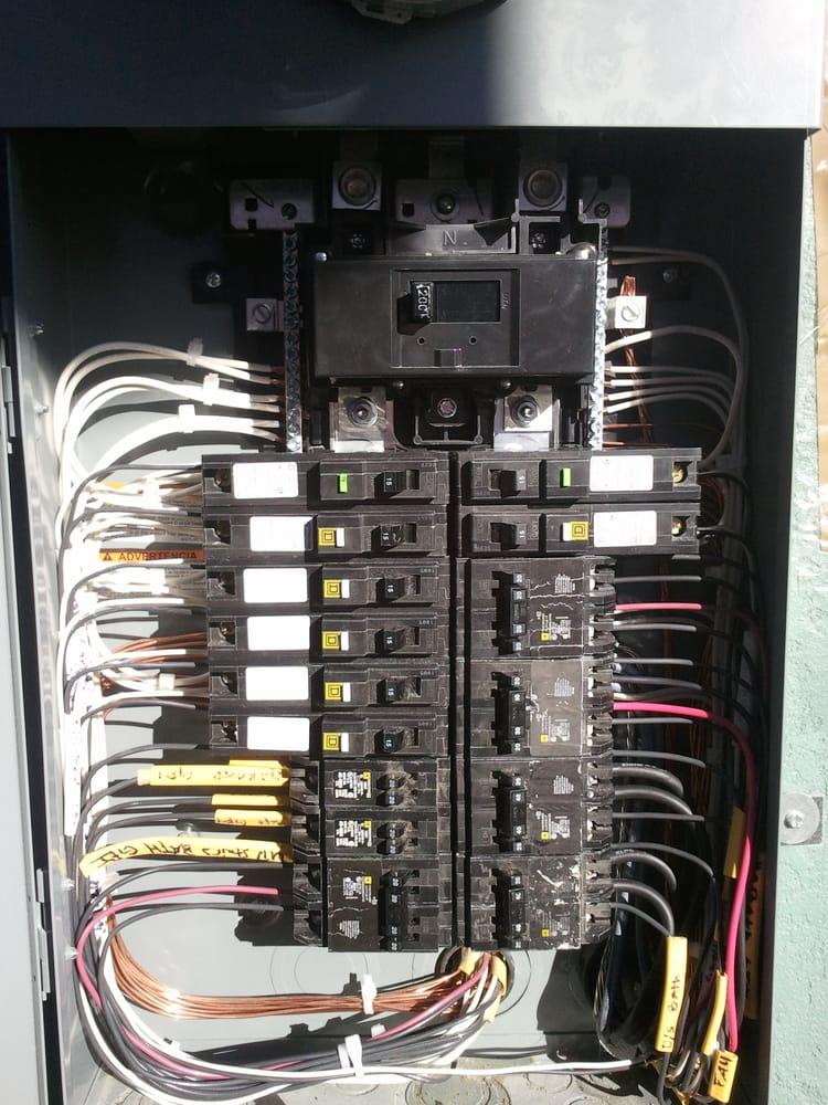 200 Amp Main Service Panel