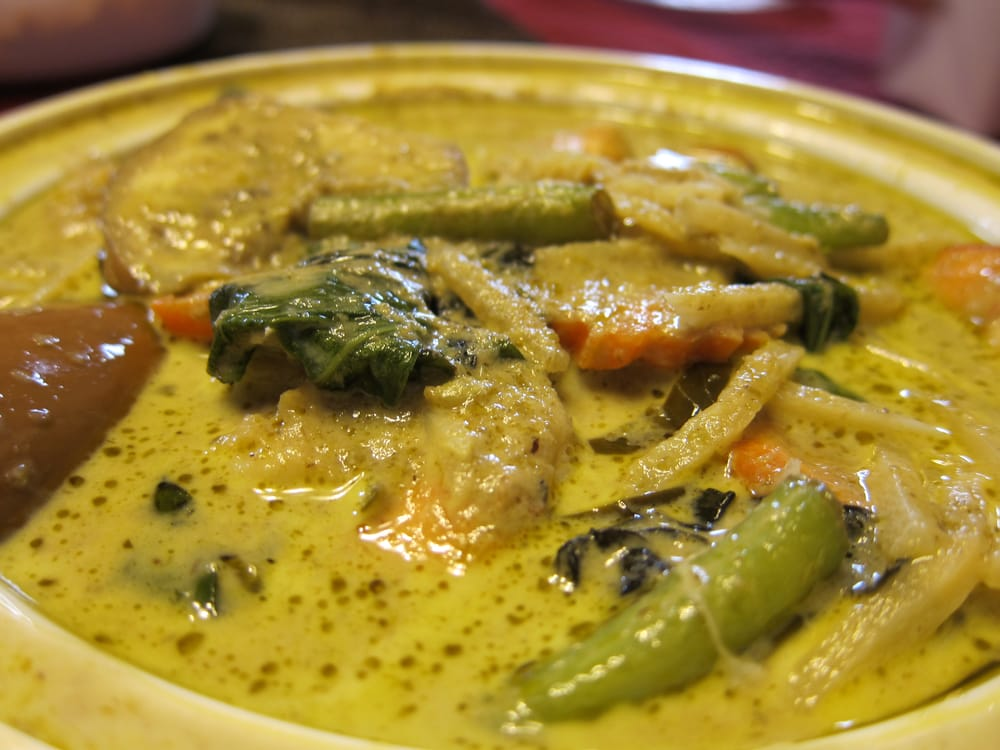Am-Thai Chili Basil - Brooklyn, NY, United States. Green curry with ...