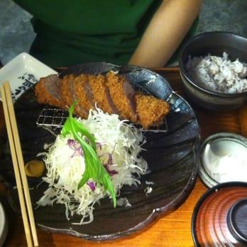 Tonkatsu ma maison japanese restaurants somerset for Aloha ma maison singapore