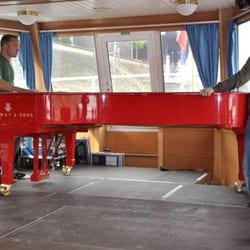 Konzertflügel auf einem Passagierschiff,…