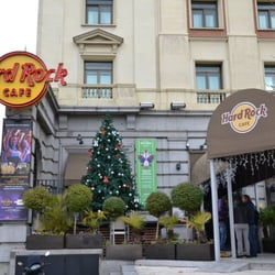 Hard Rock Cafe Madrid with Christmas…