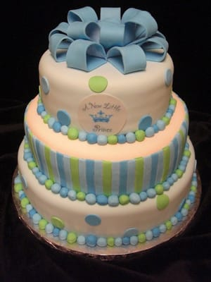 ... New Little Prince Baby Shower Cake - Cupertino, CA, United States