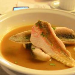 Restaurant Chez Loury - Marseille, France. the famous bouillabaisse
