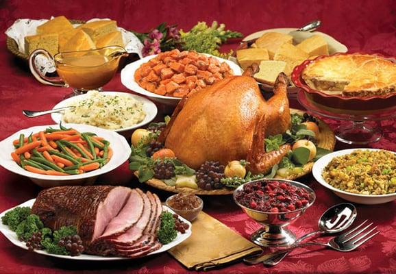 Open for thanksgiving christmas dinner take home feasts for Restaurants open for christmas dinner