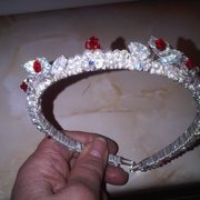 bridesmaids tiara
