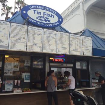 Tin fish oceanside 109 photos 135 reviews seafood for Tin fish restaurant