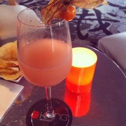 Mon cocktail tel qu'il a été servi: pas…
