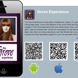 Download the salons smart phone App