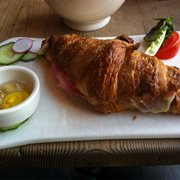 Hot? Ham and cheese croissant