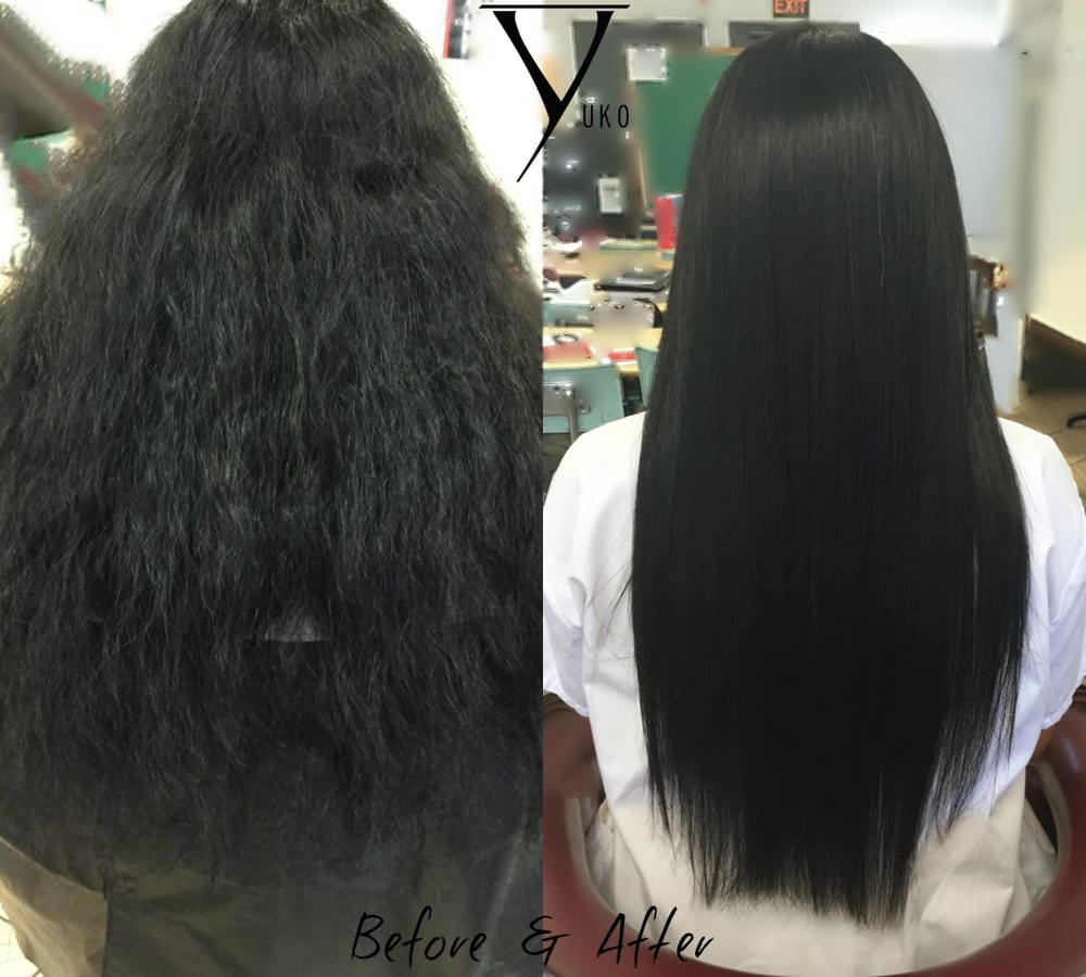 Yuko Straightening Before And After Images