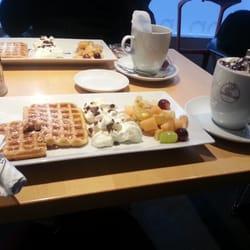 Glutenfreie belgische Waffeln mit…