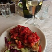 Bruschetta - some of the best tomatoes I had on my entire trip