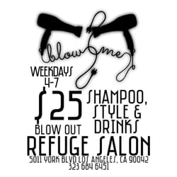 Refuge salon hair salons highland park los angeles for 2 blowout salon highland park
