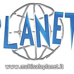 Logo Multisala Planet. Immagine tratta…