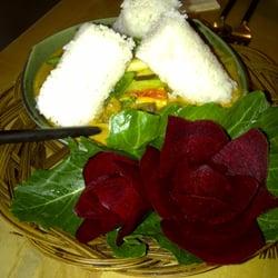 Lontong, vegetarische Köstlichkeit