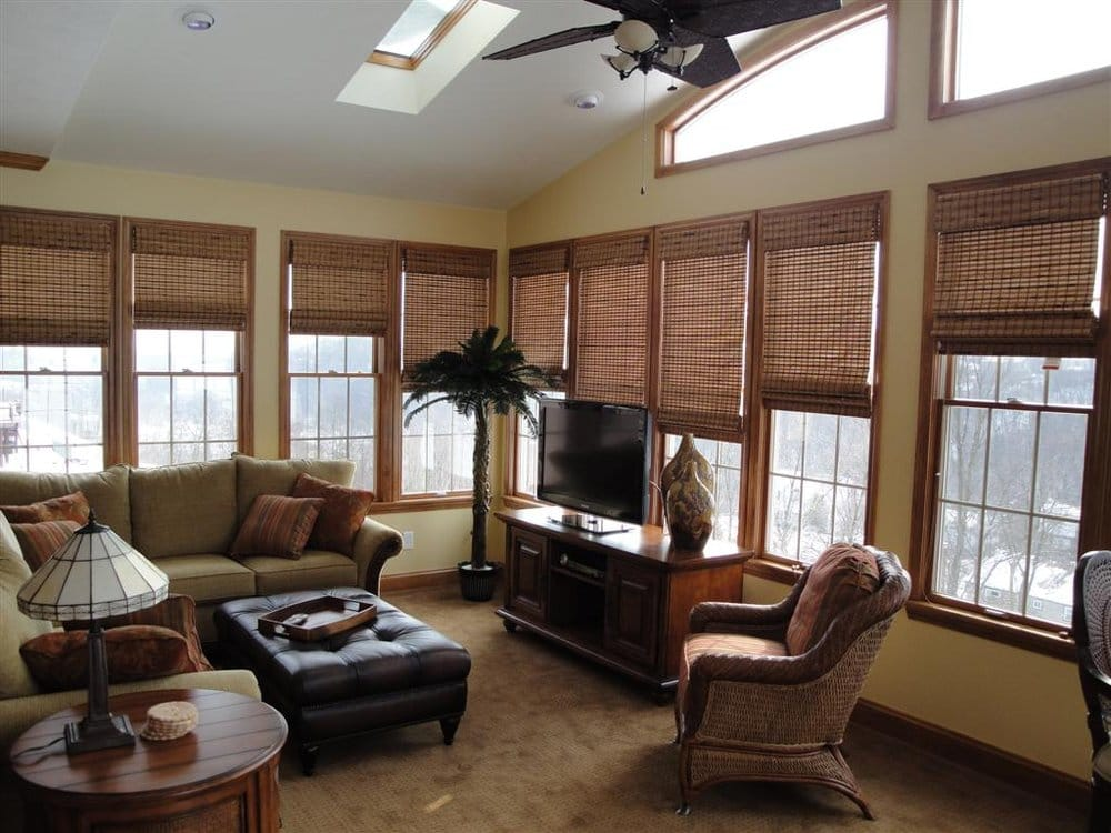This Customer Chose Signature Series Woven Wood Shades To